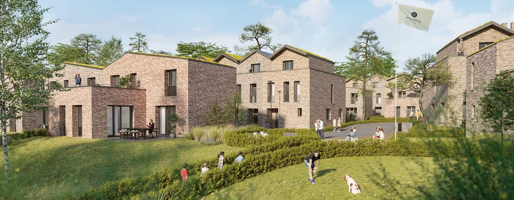 Einfamilienhäuser und Stadthäuser - die Immobilien in Rissens Ried Höfen