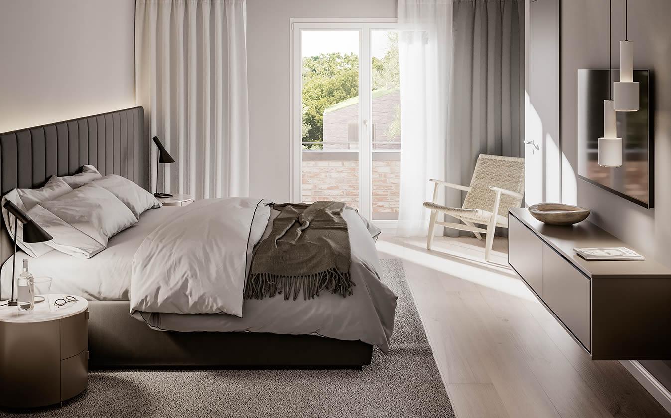 Ihr Schlafzimmer in der Ried Höfen?
